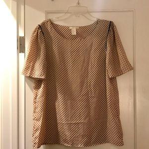 Blush H&M blouse